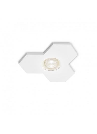 SATELLITE 8W reflektor wpuszczany biały połysk AQFORM
