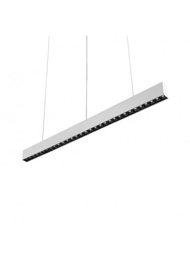 RAFTER LED 79W zwieszany 107 cm biały połysk AQFORM