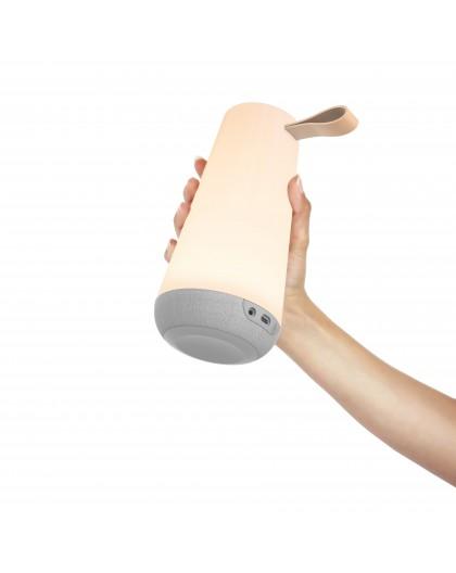 UMA przenośna lampa ogrodowa z funkcją głośnika
